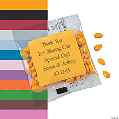 Personalized Wedding Candy Sunflower Seeds
