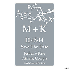 Personalized Wedding Tree Save the Dates