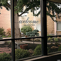 Personalized Welcome Cling
