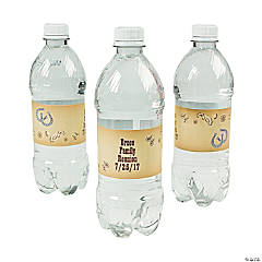 Personalized Western Water Bottle Labels