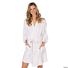 Personalized White Terry Robe