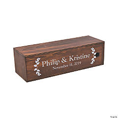 Personalized Wine Keepsake Box