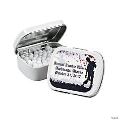 Personalized Zombie Mint Tins