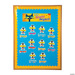 Pete the Cat™ Classroom Jobs Bulletin Board Set