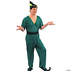 Peter Pan Elf Robin Hood Adult Men's Costume