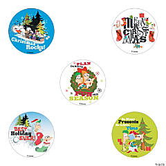 Phineas & Ferb Christmas Stickers