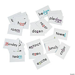 Phonemic Pocket Chart Card Set