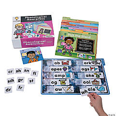 Phonological Awareness File Folder Games