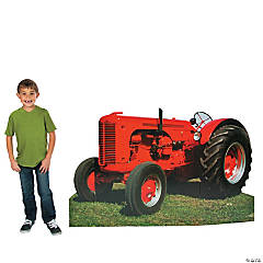 Photo Cutout Tractor Stand-Up