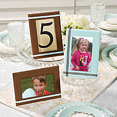 Photo Frame Age Table Numbers Idea
