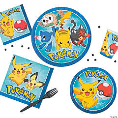 Pikachu & Friends Birthday Party Supplies