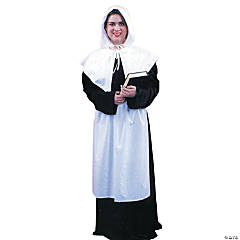 Pilgrim Lady Adult Women's Costume