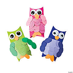 Pillow Box Owl Treat Boxes Idea