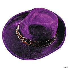 Pimp Hat in Dark Purple