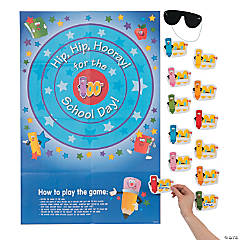 Pin the 100th Day of School on the Target Game