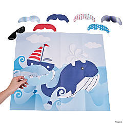 Pin the Tail on the Whale Party Game