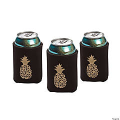 Pineapple Foam Can Covers