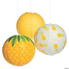 Pineapple Hanging Paper Lanterns