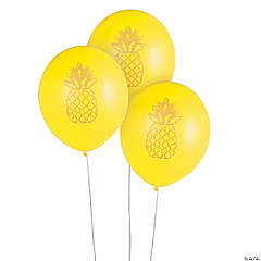 Pineapple Latex Balloons