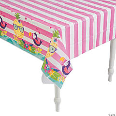 Pineapple 'N' Friends Plastic Tablecloth