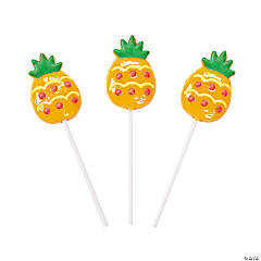 Pineapple-Shaped Suckers