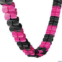 Pink & Black Garland