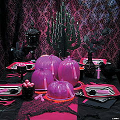 Pink and Black Glow Party Supplies