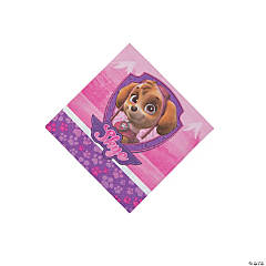 Pink & Purple Paw Patrol™ Beverage Napkins