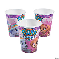 Pink & Purple Paw Patrol™ Cups