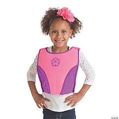 Pink & Purple Superhero Chest Plate
