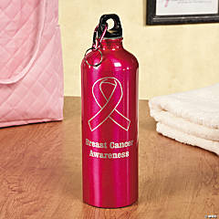 Pink Awareness Water Bottle