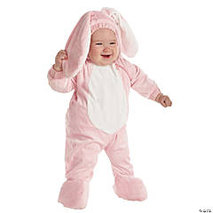 Pink Bunny Toddler Costume For Kids