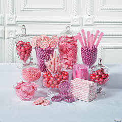 Pink Candy Buffet Supplies