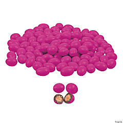 Pink Chocolate-Covered Almonds