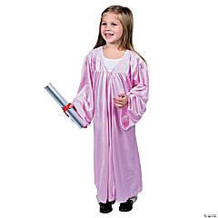 Pink Elementary Graduation Robe
