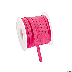 Pink Faux Leather Cording