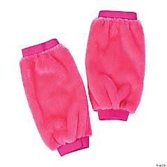 Pink Fuzzy Leg Warmers