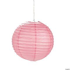Pink Hanging Paper Lanterns