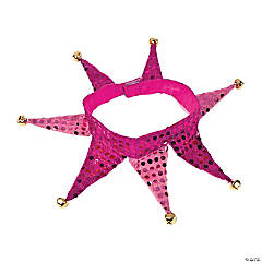 Pink Jester Collar