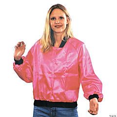 Pink Ladies Jacket Adult Women's Costume