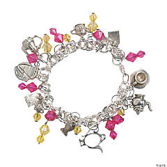 Pink Lemonade Summer Charm Bracelet Idea