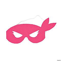 Pink Ninja Girl Masks