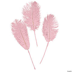 Pink Ostrich Feathers