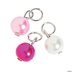 Pink Pearl Charms