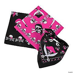 Pink Pirate Sassy Bandanas