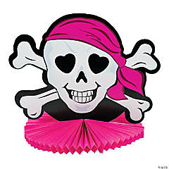 Pink Pirate Tissue Centerpiece