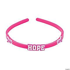 Pink Ribbon Headbands