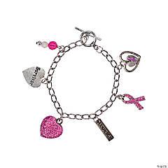 Pink Ribbon Survivor Bracelets