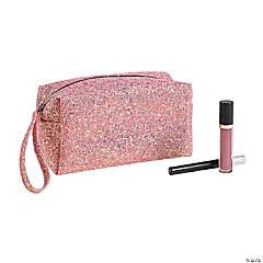 Pink Sparkle Makeup Bag
