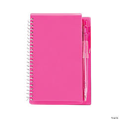 Pink Spiral Notebook & Pen Sets